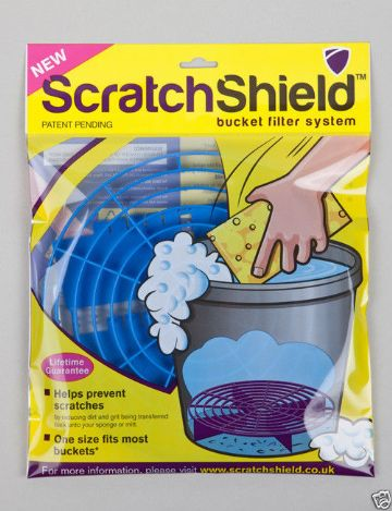 Scratchshield bucket guard - blue